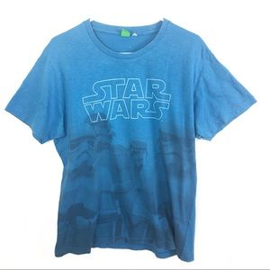 Star Wars | Blue Stormtrooper Graphic Tee Size XL